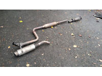 Honda Civic EG EK Stainless Exhaust B16 B18 K20 H22 D16 VTEC Engine Vti Sir Lsi Esi Vei