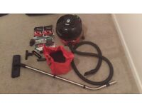 Henry vacuum cleaner - Numatic HVR 200A - used - with all bits/tools