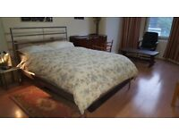 Massive double bed in city center( AVAILABLE IMMEDIATELY ) Short or long term