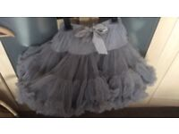 Silver Angels face tutu. Age 6-8