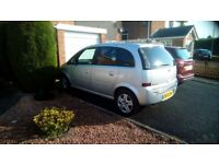 Vauxhall meriva 1.6 mot e/w c/l twin sun roofs good condition