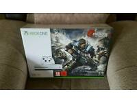 Xbox one s 1tb with gears of war 4 brand new