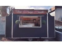 Catering Trailer/Burger Trailer 12 x 6ft with Generator