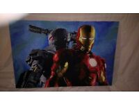 Hand painted marvel Ironman painting