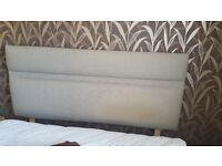 Double bed headboard with 2X screw fixings.