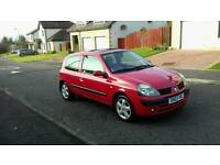 2003 RENAULT CLIO, LONG MOT, 57,000 MILES, £595