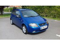 VERY LOW MILEAGE CHEVROLET KALOS 1.2 CC & MOT TILL DECEMBER