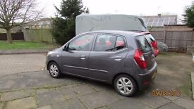 Hyundai I10, 5 door Active 1.2 2014 with 18,000 miles from new.