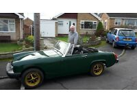 MG Midget 1500 Convertible