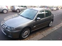 MG ZR 115 Trophy SE TD hatchback, 2L Turbo. Metallic grey. 5 doors