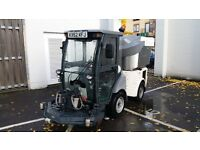 Hako Citymaster 1250C Classic Articulated super compact ride in street sweeper vehicle
