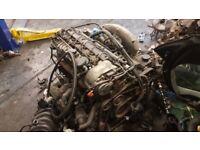 2002 S CLASS W220 S320 3.2 CDI DIESEL ENGINE ***BARE*** 6 CYLINDER GOOD WORKING PAK £300