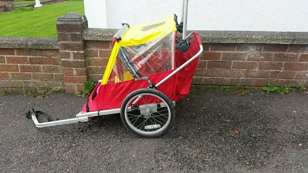 Cild bike trailer