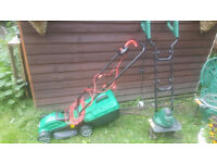 Lawn Mower & Rotovator - both used once!