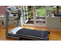 Running Machine For Sale - Horizon Fitness, Quantum III HRC. Like new, multi programs