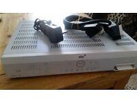 Sky + Amstrad DRX180 Sky Plus satelite Receiver Box + +