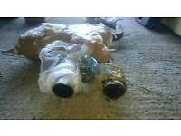 Genuine mk5 VW Golf R32 exhaust system