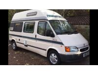 Ford Autosleeper Duetto by Marquis Motorhomes. Ford Transit based. 2.5 Turbo Diesel