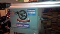 """10"""" professional series king canada table saw with stand."""