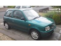 NISSAN MICRA 1.0L 61000MLS GENUINE, CHEAP TAX AND INSURANCE