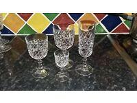 LOVELY CRYSTAL GLASSES