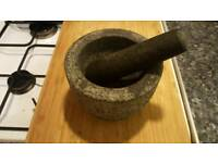 High Quality Mortar and Pestle