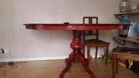 Italian style oval table