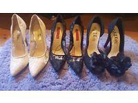 size 3 heels