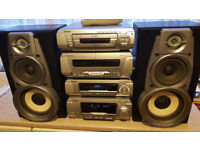Technics SE EH790 Hifi and Speakers- PLEASE NOTE: CD Player is FAULTY