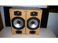 Exccellent condition Monitor Audio Bronze B2 HiFi Bi wire standmount / bookshelf speakers