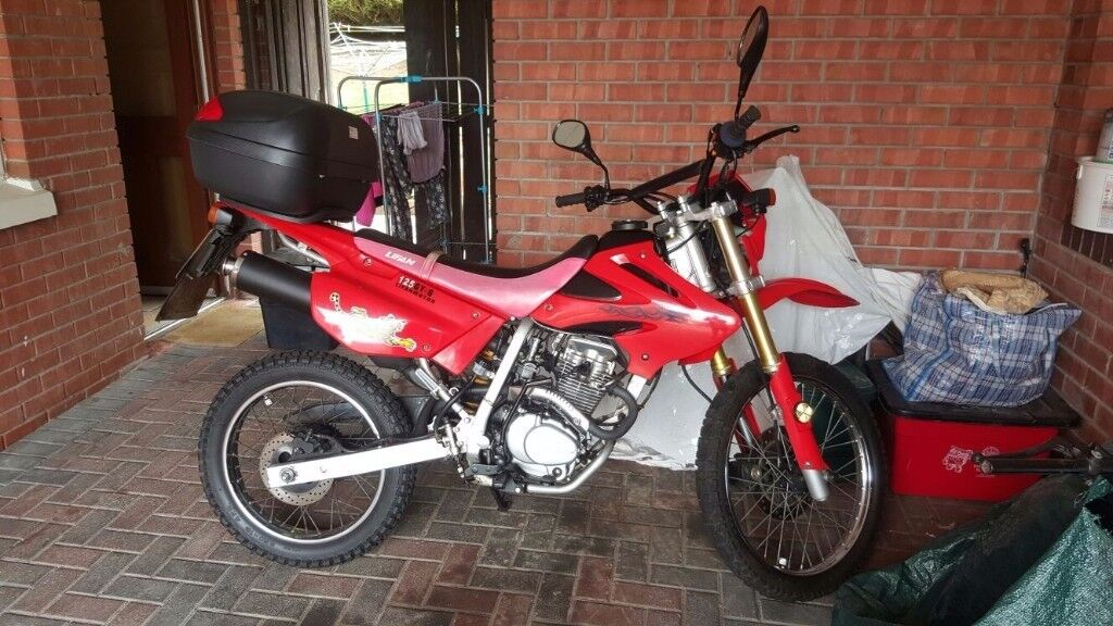 Lifian 125 motorcycle for sale 2011