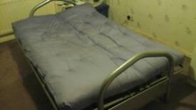 Futon bed settee