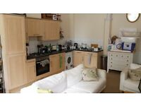 Unfurnished double room with en-suite in furnished flat on Portland Square.
