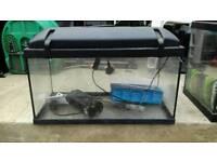 FREE! Fish Tank Aquarium 60L x 30W x 30H (cm) plus electricals, plants, gravel etc