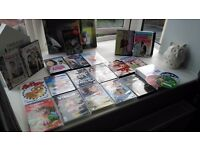 Bundle of dvds including childrens and christmas
