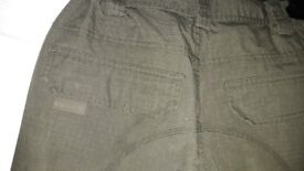 Trakker Ripstop Combat fishing trousers size medium