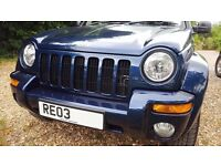 JEEP CHEROKEE LIMITED CRD Auto March 2003 (2 Owners) Fantastic Condition