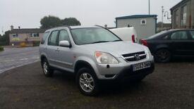 Honda CRV 2003 - 2.0 Petrol - Manual - LONG MOT - recently serviced - £1450