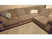 Dfs corner left hand sofa