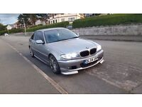 2004 BMW E46 M sport 330CD coupe – 330d diesel , low mileage , clubsport , remapped