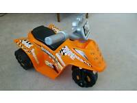Toddler's motorised quad bike
