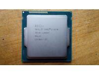 Intel Core i5 4570 CPU desktop processor (socket LGA 1150, Haswell) - works perfectly