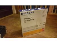 *Still available* Netgear DG834G Wireless-G Modem Router