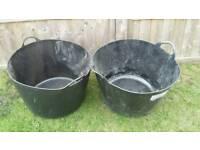 Rubble buckets