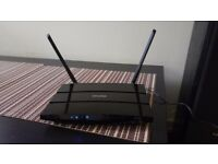 For sale wireless router N600 TP-Link WDR3600 2x 300mb/s For internet connections with modems