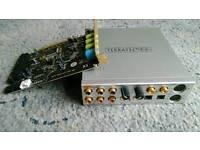 Terratec DMX 6fire 2496 digital PC soundcard