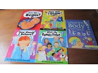 "SET OF 4 CHILDREN'S BOOKS ""HOW DID I BEGIN"""