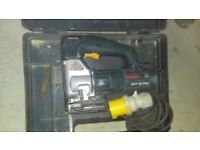 Bosch jig saw and bosch planer, both 110v , good condition both with boxs £40.00 ech ono