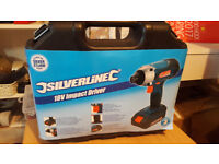 Silverline 268895 Silverstorm 18v Impact Driver - bare body