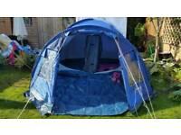 Tent 4 person vango blue